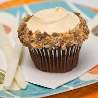 Photo courtesy of Frosted Cupcakery - Chocolate w/Caramel Buttercream Toffee