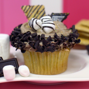 Photo courtesy of Casey's Cupcakes - Smokin Smores