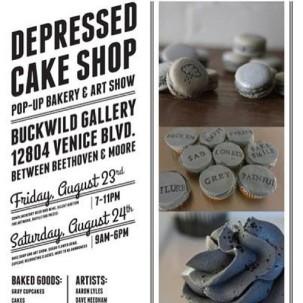 Photo courtesy of Secret Marmalade - LA Depressed Cakes Poster