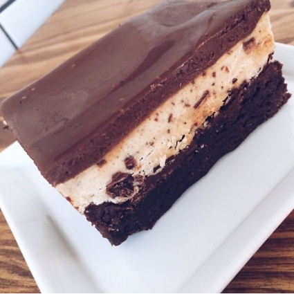 Photo courtesy of Sugarbird Desserts - Chocolate Chip Cookie Dough Brownie