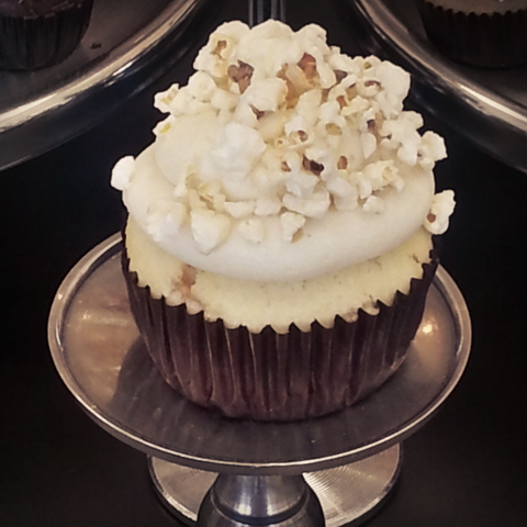 My Delight Cupcakery - Kettle Corn Cupcake