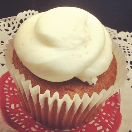 Something Sweet by Serina - Pumpkin Cupcake w/Maple Cream Cheese