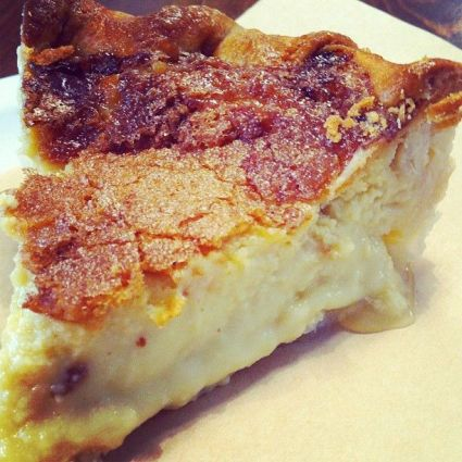 Photo by The Pie Hole - Maple Custard Pie