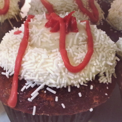 Suite 106 Cupcakery - Red Velvet Cheesecake Cupcake