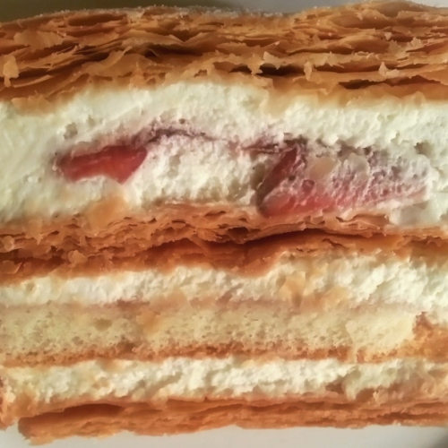 Lady M - Strawberry Mille Feuille
