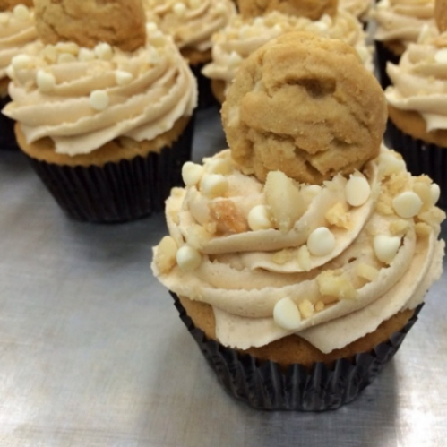 Photo by My Delight Cupcakery - White Chocolate Macadamia Nut Cookie
