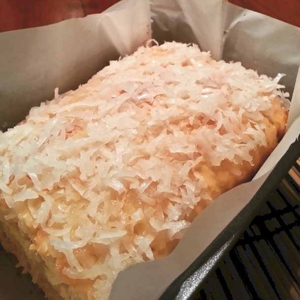 Recipe Review: Coconut Cream Cheese Pound Cake | CONFESSIONS OF A ...