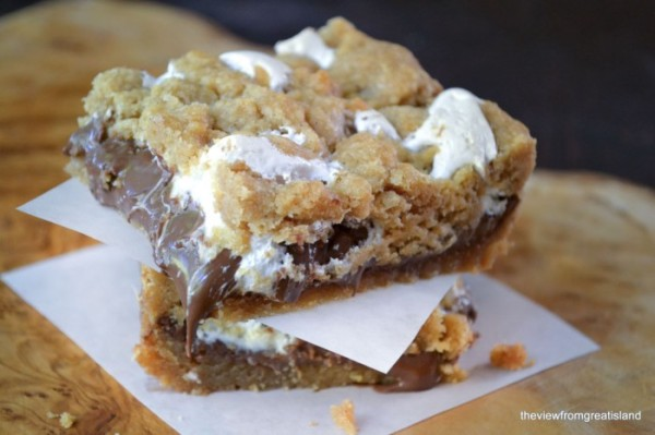 The View from Great Island | Nutella S'mores Bars